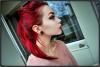 des cheveux Rouges