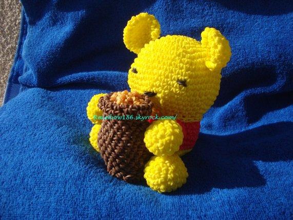 Loomigurumi : Winnie l'oursons