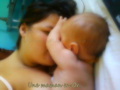 Tout Simplement Car Je l'aime, et On Voi Nortre Complicité Ce Lien Qui à Entre Maman et Bébé