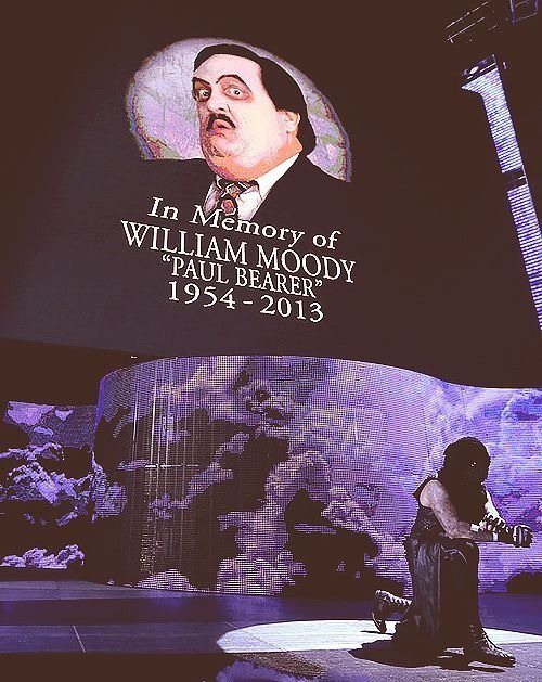 We will miss you Paul Bearer <3 #RIP