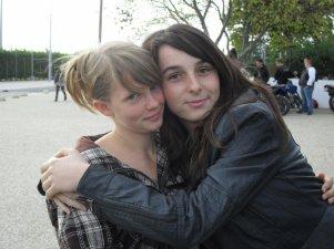 moi et ma meilleur amie :)