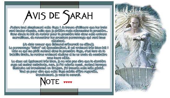 Catégorie Film : La saga Narnia.