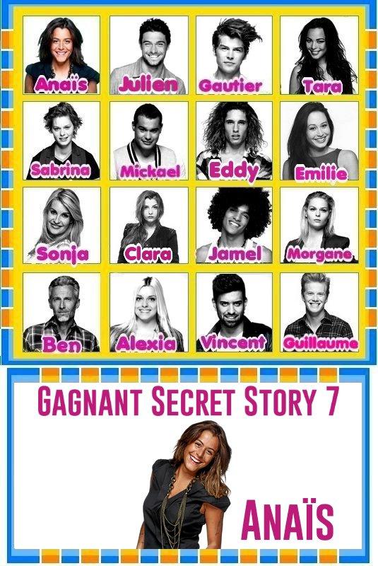 Hors Sujet : Télé réalité / Secret Story 7 .