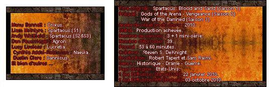 Catégorie Série : Spartacus ♥