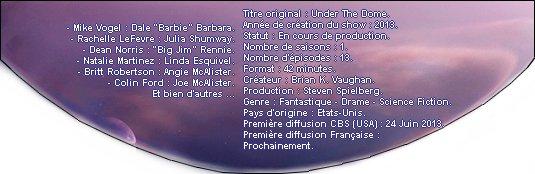 Catégorie Série : Under The Dome ♥