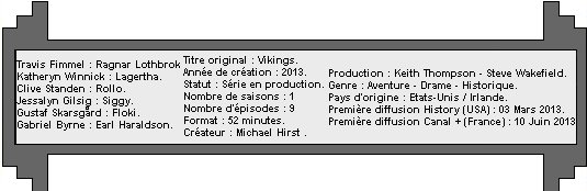 Catégorie Série : Vikings ♥