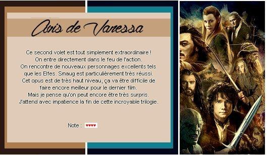 Catégorie Film : Le Hobbit - La désolation de Smaug.