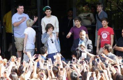 One Direction : Leur séjour à Los Angeles