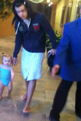 Harry et bébé lux