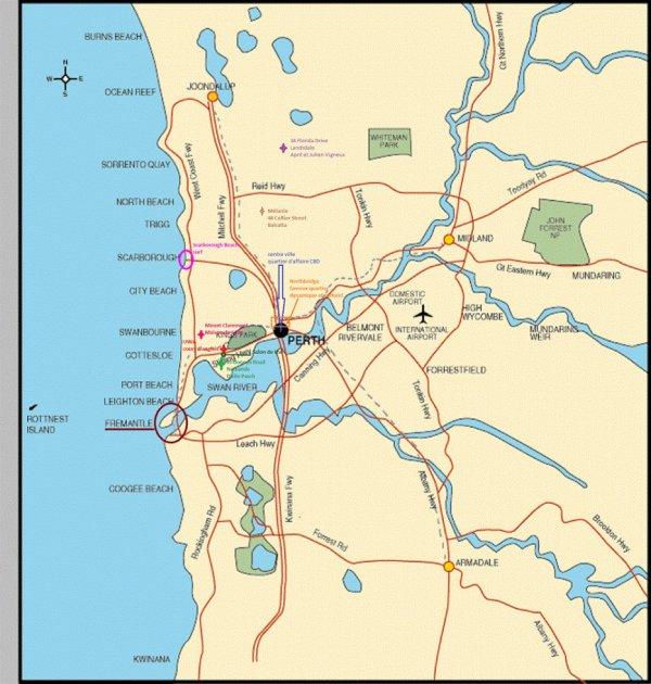 Perth, où j'ai vécu 6 mois