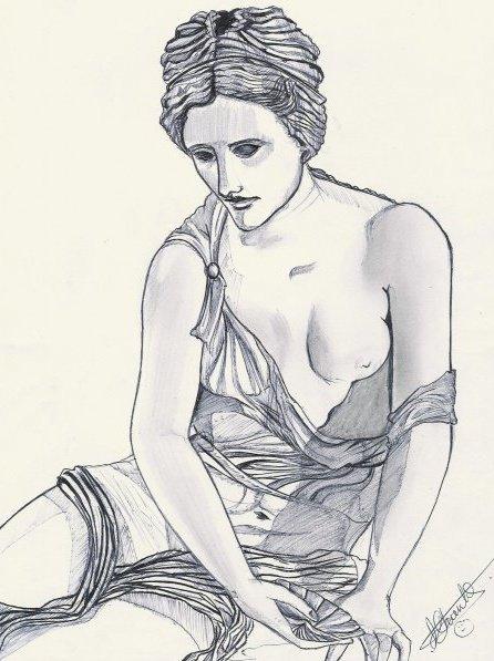 Nymphe grecque