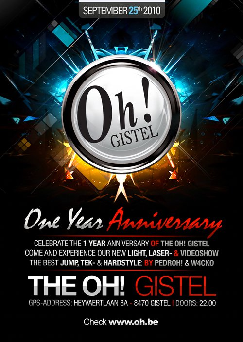 1 Year The Oh  ! Gistel