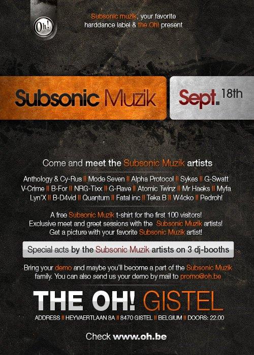 Subsonic Muzik
