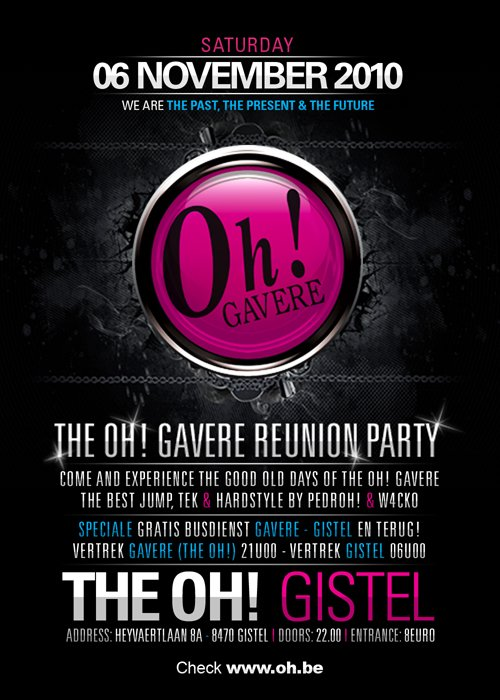 THE OH ! GAVERE REUNION PARTY