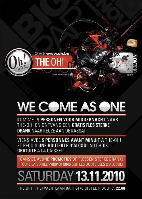 THE OH ! GISTEL - WE COME AS ONE !