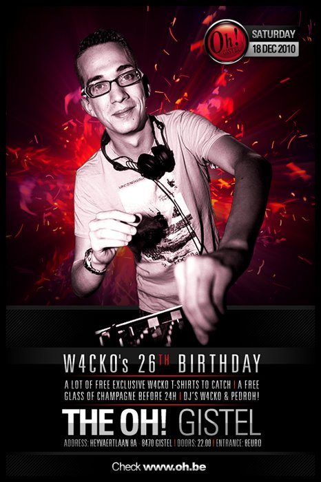 THE OH GISTEL ! - W4CKO's 26th BIRTHDAY