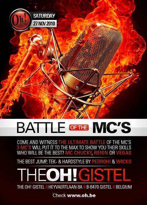 THE OH GISTEL ! - BATTLE OH THE MC's