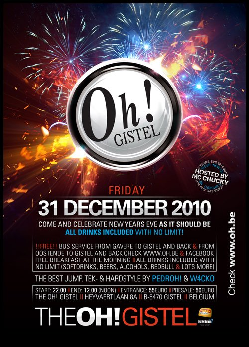 THE OH GISTEL ! - NEW YEARS 2011 !