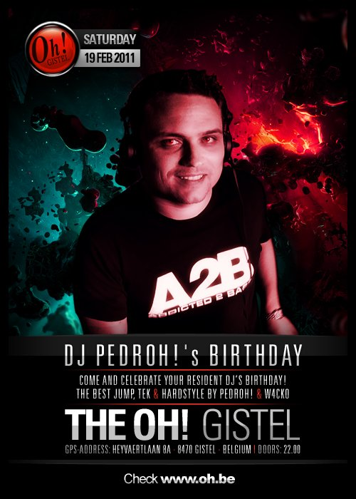 THE OH GISTEL ! - DJ PEDROH BIRTHDAY