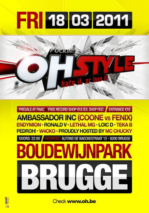 THE OH FUKING OHSTYLE BOUDEWIJNPARK BRUGGE !