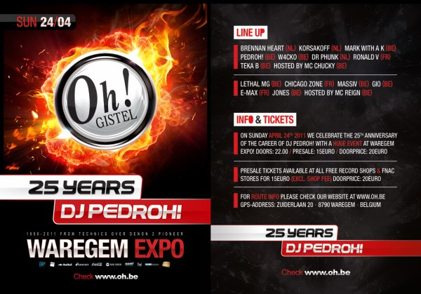 THE OH GISTEL ! - 25 YEARS DJ  PEDROH !