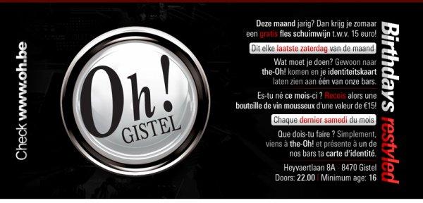 THE OH GISTEL ! BIRTHDAYZZ RESTYLED - 26.03.2011