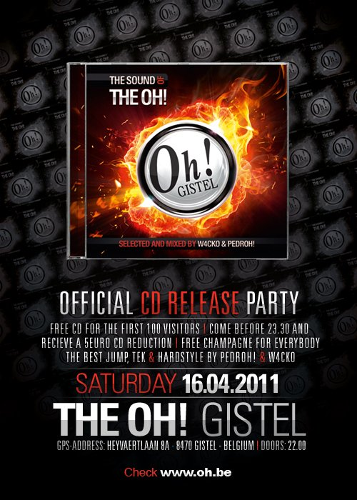 THE OH GISTEL ! CD - RELEASE : THE SOUND OF THE OH 2011