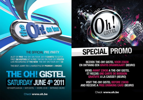 THE OH GISTEL ! THE OH ON TOUR 2011 PRE PARTY