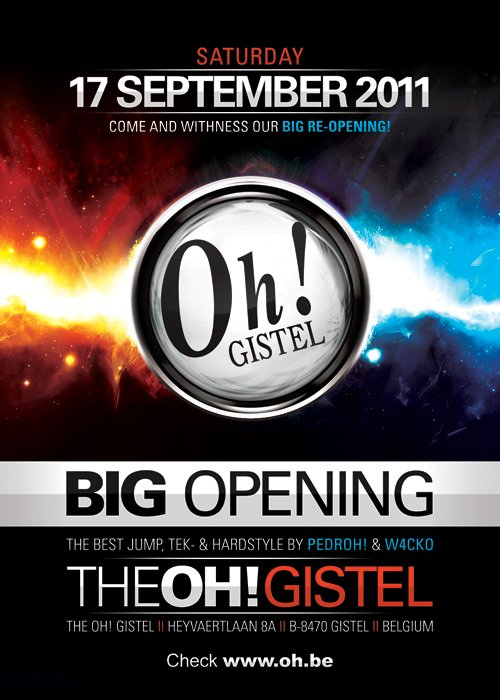 THE OH GISTEL ! BIG  RE-OPENING