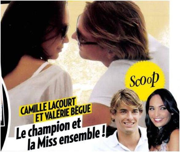 Valérie Bègue enceinte de Camille Lacourt !