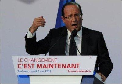 F.HOLLANDE< Nouveau président, Nouvelle France?