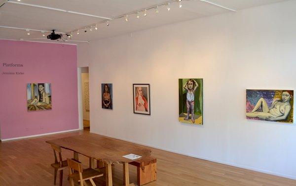 Jemima expose jusqu'au 10 mai à la galerie Fouladi Projects de San Fransisco