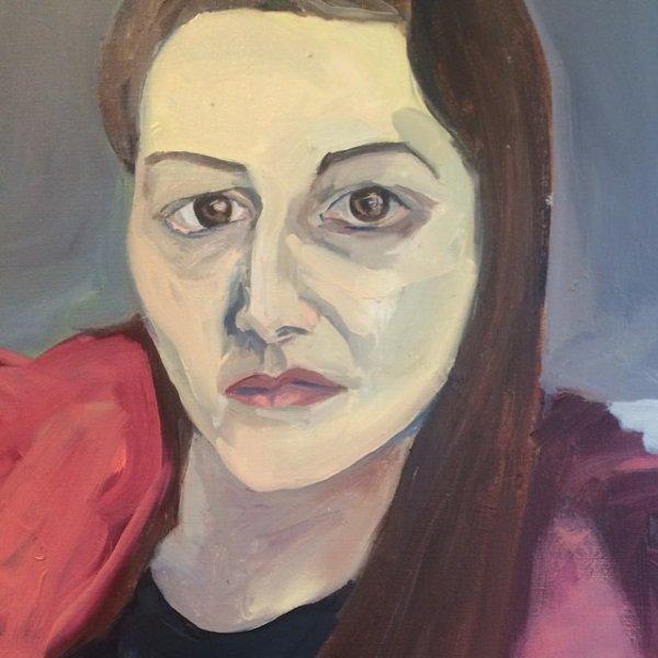 Jemima expose du 25 juin au 26 juillet à la Sargent's Daughters gallery à NYC. C'est une exposition collective où les femmes artistes présentent des travaux qui montreraient une sorte d'héritage du peintre John Singer Sargent.. (artiste du début du XXeme siècle)