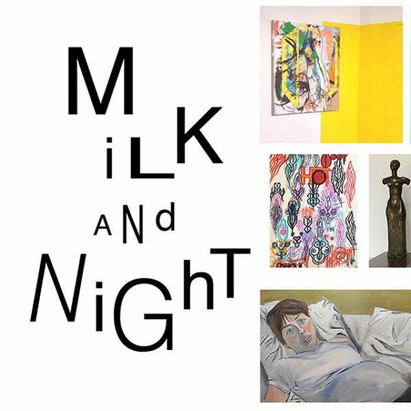 Peu de nouvelles de Jem mais elle a exposé une toile à la galerie Sensei. L'expo s'appelle Milk and Night et ne montre que des artistes féminines. Malheureusement on ne la voit sur aucunes des photos du vernissage donc on va se contenter du flyer (sa peinture est la dernière) et du programme.