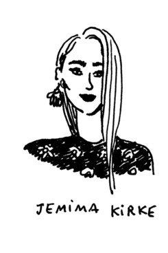 Interview de Jemima pour nymag à propos du style vestimentaire, de son évolution et de l'influence de sa mère ( styliste qui tiens une boutique vintage.)