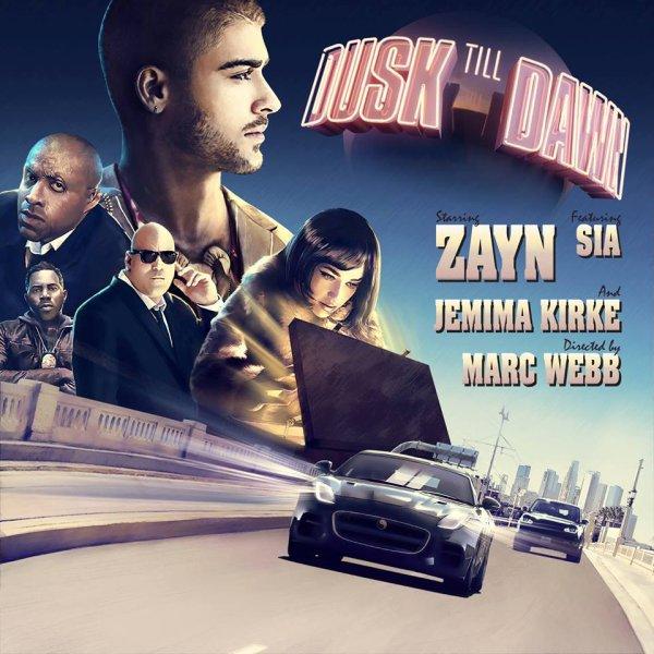 Le 7 septembre sortira le clip Dusk till Dawn duo regroupant Zayn et Sia. Quel rapport avec Jemima? Hey bien la belle sera dans le clip. Décidément elle n'arrête plus de faire des apparitions dans les clips en ce moment. En tout cas j'ai hâte de découvrir le résultat l'affiche fait un peu film d'action ça attise ma curiosité