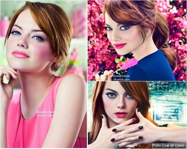 Revlon Photoshoot Summer 2011-2012 : Emma est l'une des égérie de la marque Revlon + Retrouver l'une des vidéos avec Emma en dessous !  personnellement :  Ce Shoot est sublime,c'est d'ailleurs mon préférée,Emma est ultra superbe dessus ! ♥