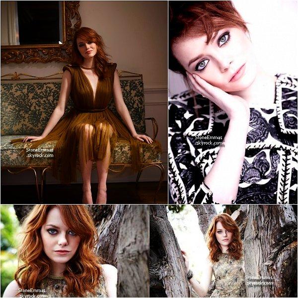 """June 2012 Photoshoot : Emma à posée pour le """" Sunday Telegraph """" Alors Top/Flop ? perso : ce shoot est tout simplement magnifique ♥ C'est l'un de mes préférés,Emma est superbe dessus !"""
