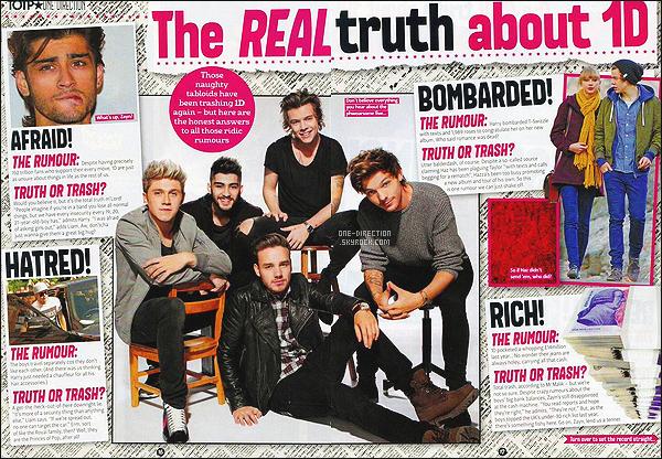 . Découvrez la couverture de magazine japonais « Vivi » pour lequel les garçons ont posés .