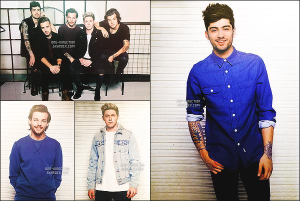 . Découvrez des nouvelles photos des One Direction lors d'un photoshoot encore inconnu. .