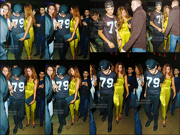 29/08/2013 :  Liam a été aperçu en compagnie de Sophia, quittant la boîte « Funky Buddha » à Londres.C'était la première sortie officielle du couple. Liam a donc essayé de cacher le visage de sa petite amie lorsque celle-ci sortait de la voiture. Adorable.