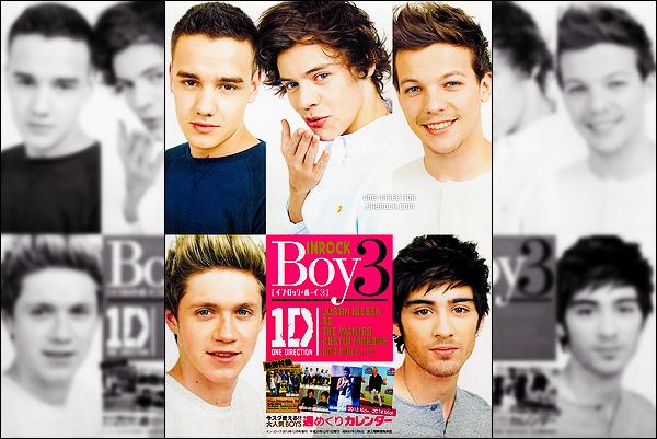 . Découvrez les scans du magazine japonais « INROCK » pour lequel les garçons posent. .