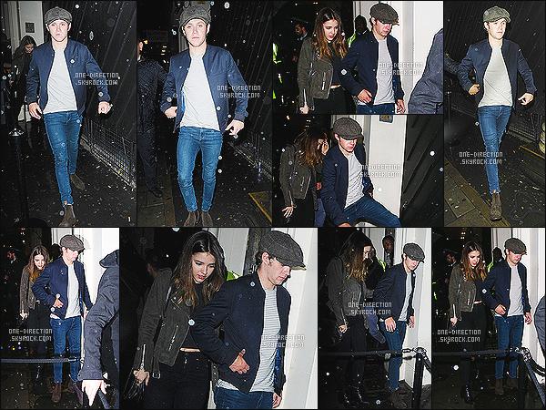 25/04/2015 : Niall H. a été photographié alors qu'il sortait de la boîte de nuit « Libertine »  avec MelissaIl semblerait que la rumeur se confirme. Niall passe de plus en plus de temps avec Melissa qui semble être sa petite-amie depuis quelques mois déjà.
