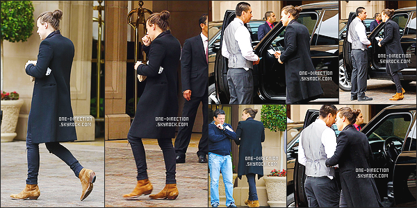 14/05/2015 : Harry a été photographié alors qu'il quittait un restaurant situé dans West Hollywood (CA)Les garçons étaient présents lors de l'émission « The Late Late Show » présentée par James Corden. Ils se sont exprimés à propos du départ de Z