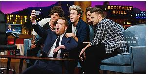 ' ●● « The Late Late Show»_.Découvrez le récapitulatif de l'émission lors de la venue des gars '
