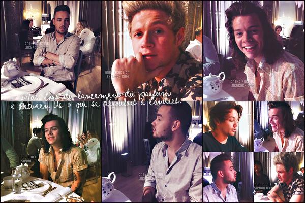 . Découvrez les premières photos des One Direction pour leur parfum « Between Us » .