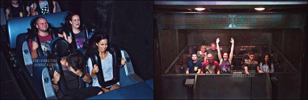02/07/2015 : C'est en compagnie de toute sa famille que Liam était au « DisneyWorld » situé à Orlando.Les photos sont prises par des fans qui ont eu la chance de croiser Liam dans le parc d'attraction. Il était accompagné également de Sophia, sa copine