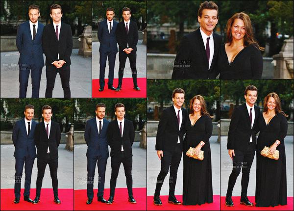 10/08/2015 : Louis & Liam étaient au « Believe in Magic Cinderella Ball » qui se déroulait dans LondresLouis était le présentateur de la cérémonie puisqu'en effet, sa maman et lui sont très investis dans cette association. Je trouve ça vraiment adorable.