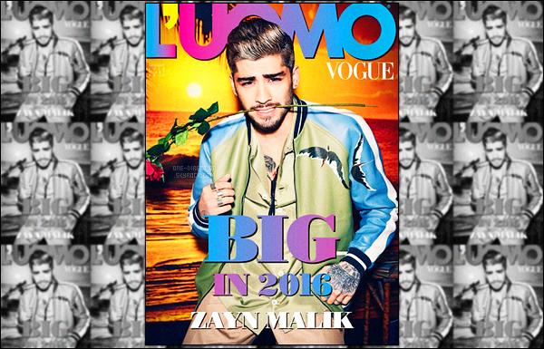 ▬ Zayn poursuit sa promotion en donnant, cette fois-ci, une interview au magazine italien « Uomo Vogue » Dans cette interview, Zayn se confie encore à propos de son départ du groupe One Direction. Il confie qu'il n'a pas eu de nouvelles des garçons..