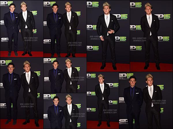 20/12/15 : Niall Horan s'est rendu au « BBC Sports Personality of the Year 2015 Awards » en IrlandeC'est dans son pays natal que Niall a décidé de se rendre à une cérémonie. Premier événement que Niall fait tout seul depuis le début de la pause..